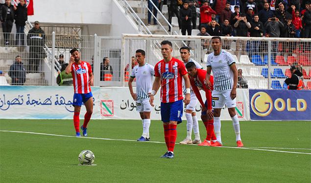 Arryadia - المغرب التطواني يفوز على ضيفه الدفاع الحسني الجديدي (2-1)